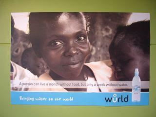 Wurld Water Poster