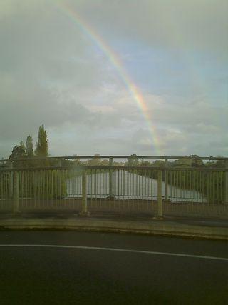 2 - Rainbow over waikato
