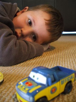 5 - Jayden playing with cars (Large)