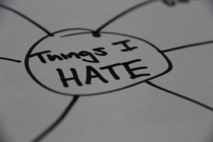 Things I hate picture