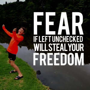 Fear takes freedom