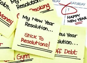 resolve - new years resolution