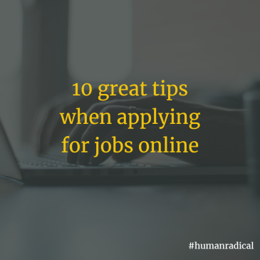 10 great tips when applying for jobs online